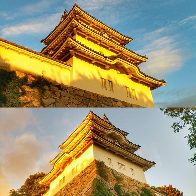 過去写真ですが、2012年の今頃の #明石城 ( #櫓 ) #明石市