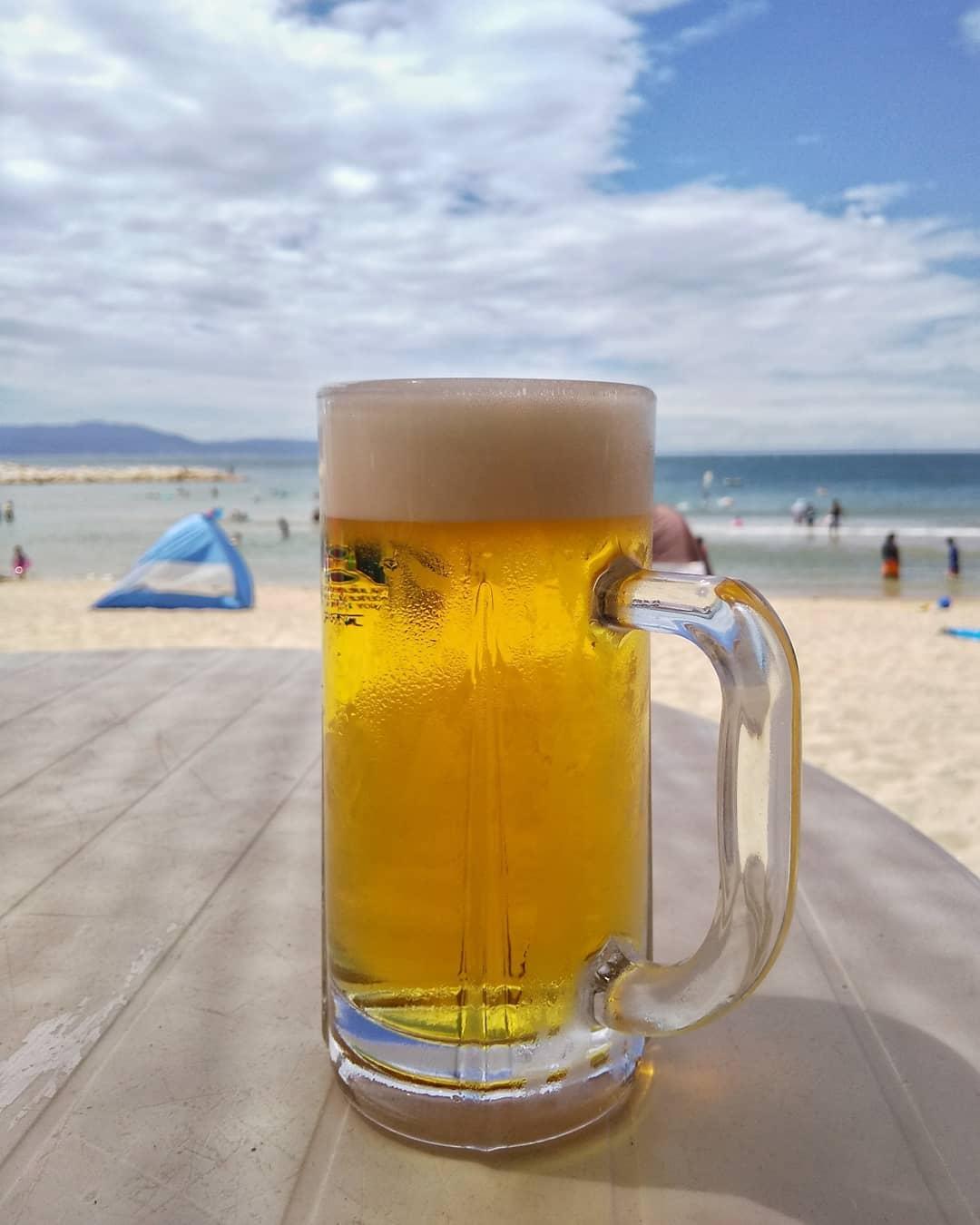 #林崎松江海岸 でお昼から1杯(3杯)